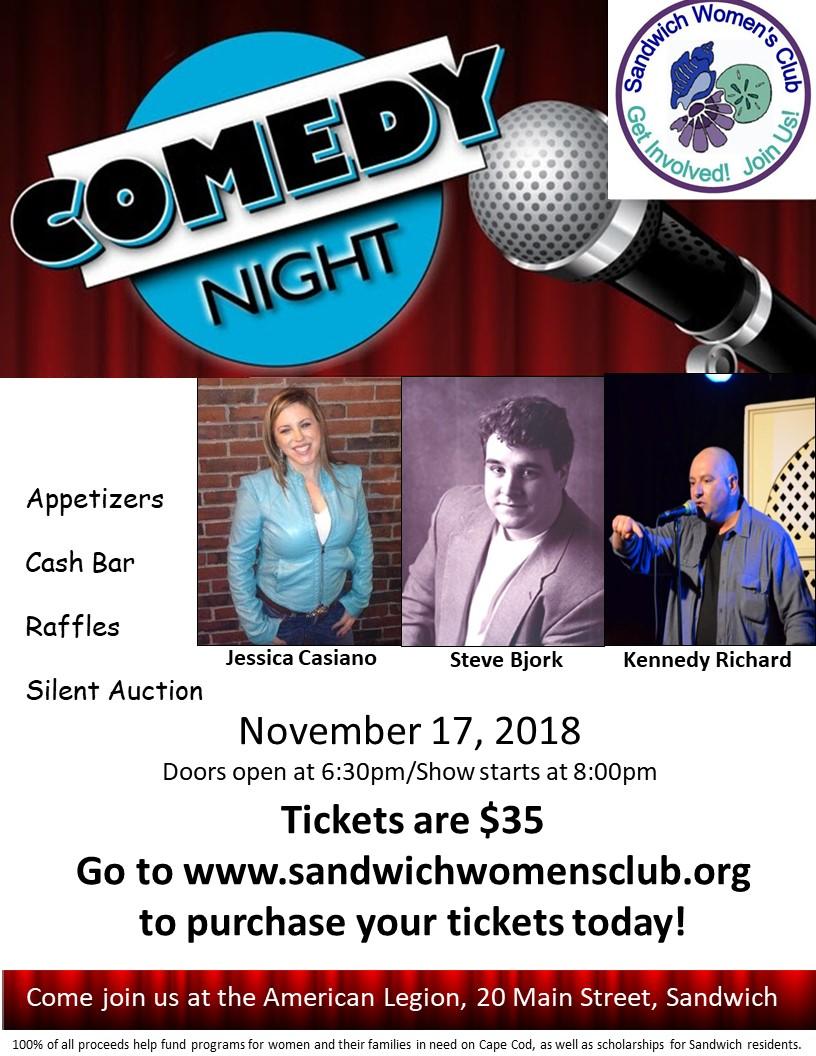 SWC Comedy Night 2018